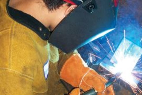 Youth mig welding