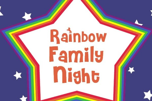 Rainbowfamilynight squarewithstar