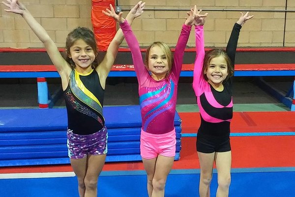 Girls gymnastics level 1a