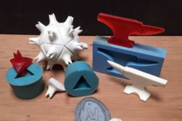 Moldmaking and casting with plastic