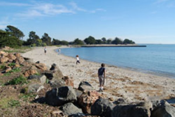 Crown beach