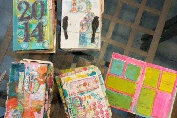 Artful life calendar journal meetup