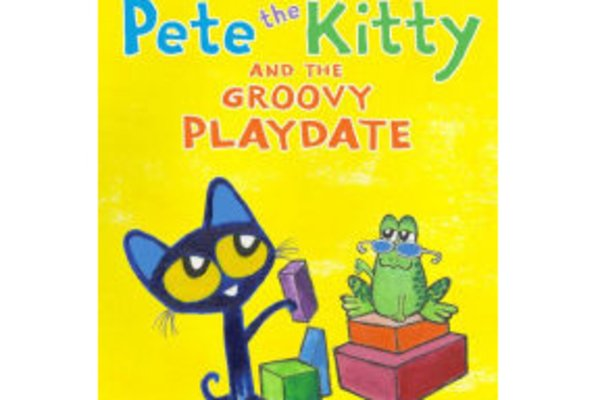 Storytime and activities featuring pete the kitty and the groovy playdate
