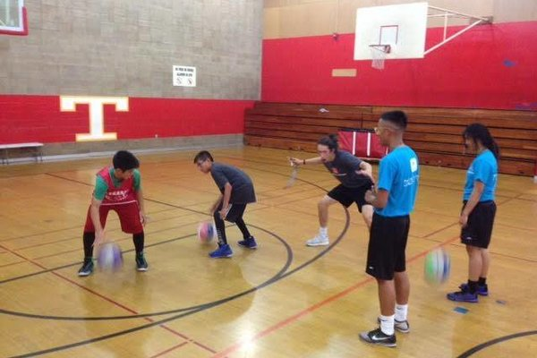 Legarza basketball summer camp games camp