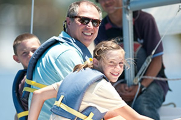 basic sailing   the first step for teens
