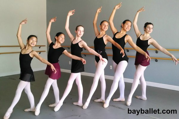 Bay ballet academy san jose willow glen maximo califano dance classes jazz lyrical hip hop modern neoclassical class 7